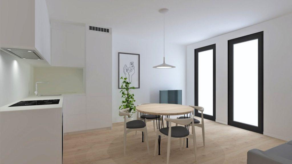 [:es]Primer piso NUEVO  en el centro de Vilanova[:ca]Primer pis NOU al centre de Vilanova [:]